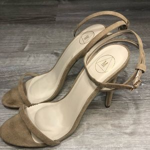 Misguided Tan heels